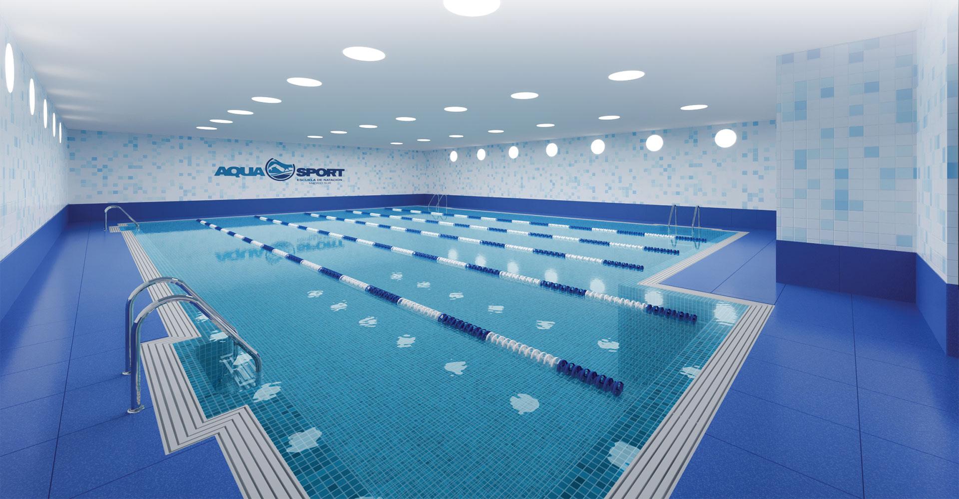 Aquasport escuela de nataci n madrid sur escuela de for Piscina bebes madrid